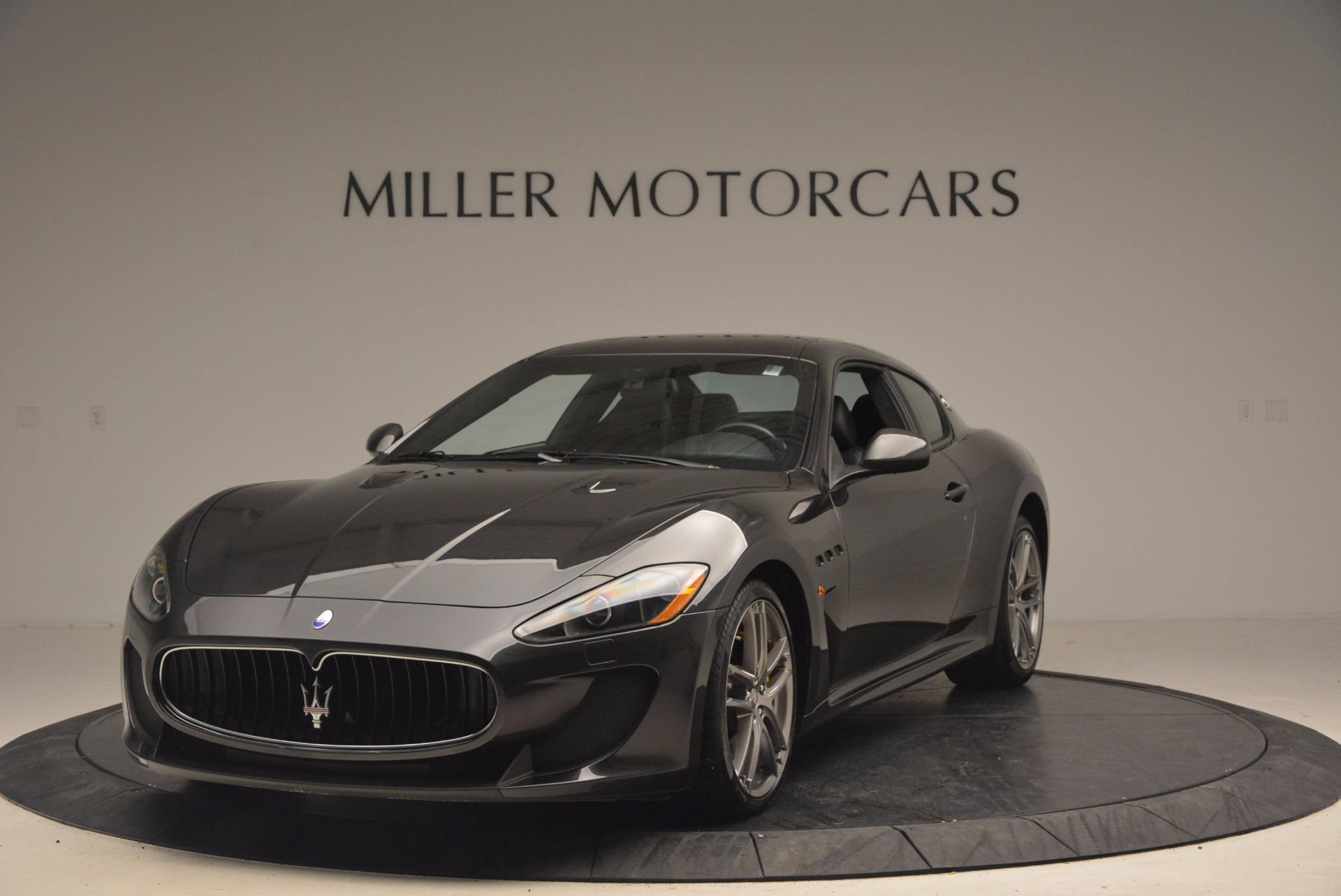 Used 2012 Maserati GranTurismo MC for sale Sold at Bentley Greenwich in Greenwich CT 06830 1