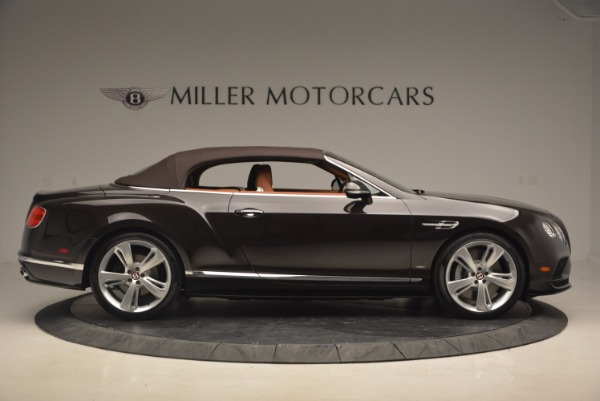 Used 2017 Bentley Continental GTC V8 S for sale $159,900 at Bentley Greenwich in Greenwich CT 06830 21