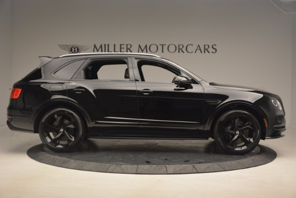 New 2018 Bentley Bentayga Black Edition for sale Sold at Bentley Greenwich in Greenwich CT 06830 9