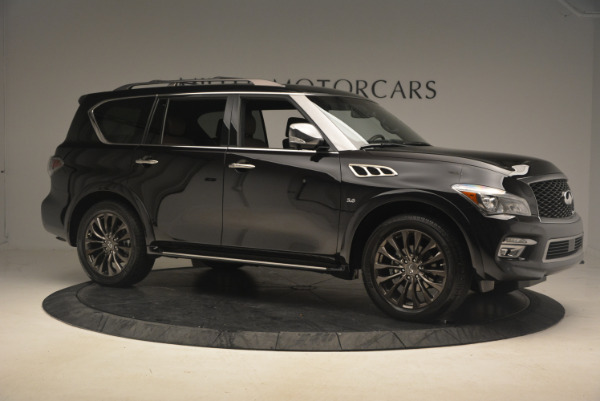 Used 2015 INFINITI QX80 Limited 4WD for sale Sold at Bentley Greenwich in Greenwich CT 06830 10