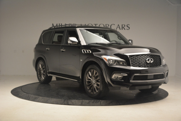 Used 2015 INFINITI QX80 Limited 4WD for sale Sold at Bentley Greenwich in Greenwich CT 06830 11