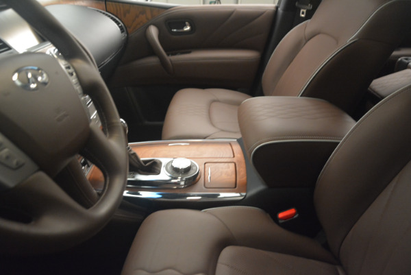 Used 2015 INFINITI QX80 Limited 4WD for sale Sold at Bentley Greenwich in Greenwich CT 06830 14
