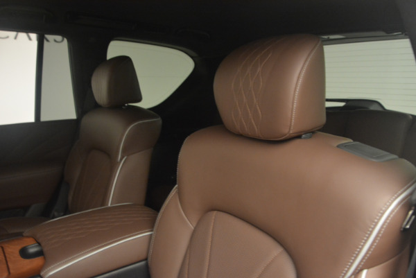 Used 2015 INFINITI QX80 Limited 4WD for sale Sold at Bentley Greenwich in Greenwich CT 06830 17