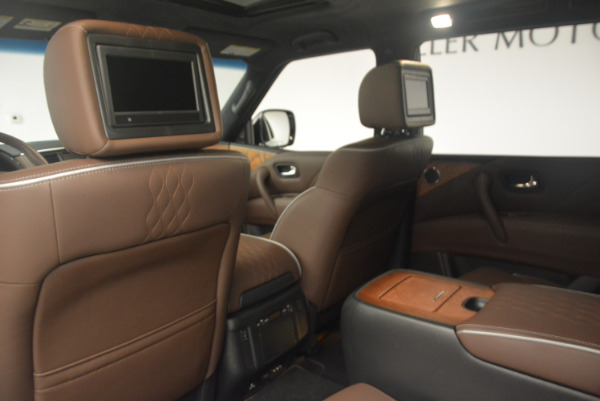 Used 2015 INFINITI QX80 Limited 4WD for sale Sold at Bentley Greenwich in Greenwich CT 06830 19