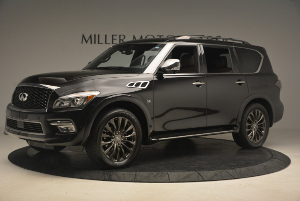 Used 2015 INFINITI QX80 Limited 4WD for sale Sold at Bentley Greenwich in Greenwich CT 06830 2