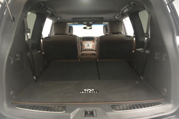 Used 2015 INFINITI QX80 Limited 4WD for sale Sold at Bentley Greenwich in Greenwich CT 06830 22