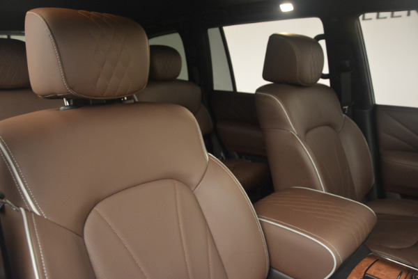 Used 2015 INFINITI QX80 Limited 4WD for sale Sold at Bentley Greenwich in Greenwich CT 06830 24