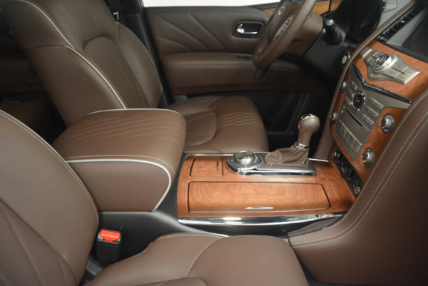 Used 2015 INFINITI QX80 Limited 4WD for sale Sold at Bentley Greenwich in Greenwich CT 06830 25