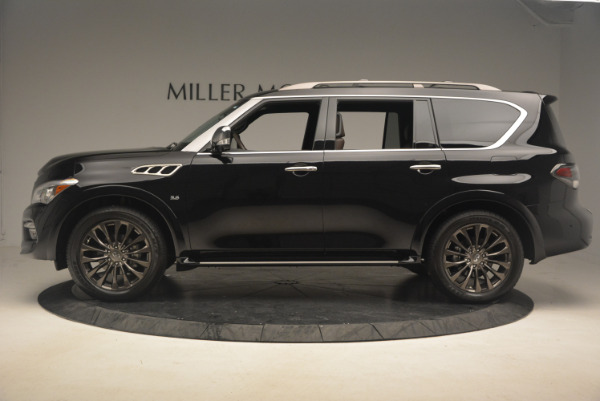 Used 2015 INFINITI QX80 Limited 4WD for sale Sold at Bentley Greenwich in Greenwich CT 06830 3