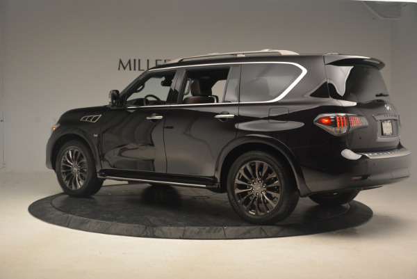 Used 2015 INFINITI QX80 Limited 4WD for sale Sold at Bentley Greenwich in Greenwich CT 06830 4