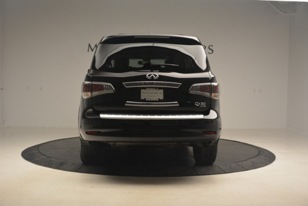 Used 2015 INFINITI QX80 Limited 4WD for sale Sold at Bentley Greenwich in Greenwich CT 06830 6