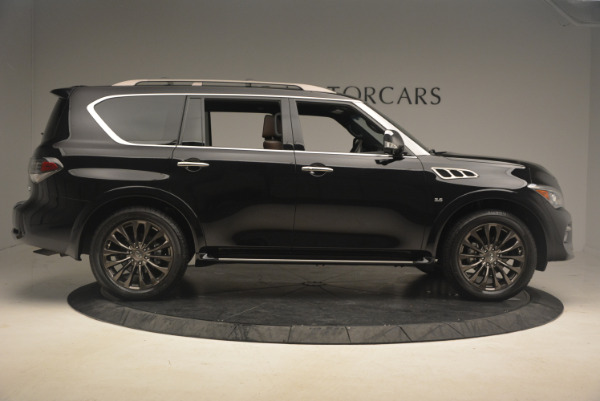 Used 2015 INFINITI QX80 Limited 4WD for sale Sold at Bentley Greenwich in Greenwich CT 06830 9