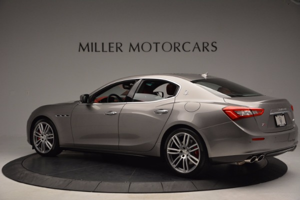 Used 2015 Maserati Ghibli S Q4 for sale Sold at Bentley Greenwich in Greenwich CT 06830 4