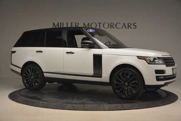 Used 2015 Land Rover Range Rover Supercharged for sale Sold at Bentley Greenwich in Greenwich CT 06830 10