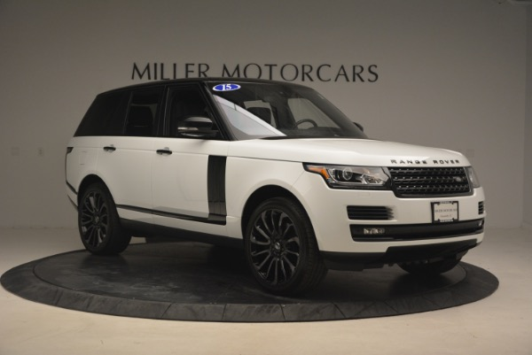 Used 2015 Land Rover Range Rover Supercharged for sale Sold at Bentley Greenwich in Greenwich CT 06830 11