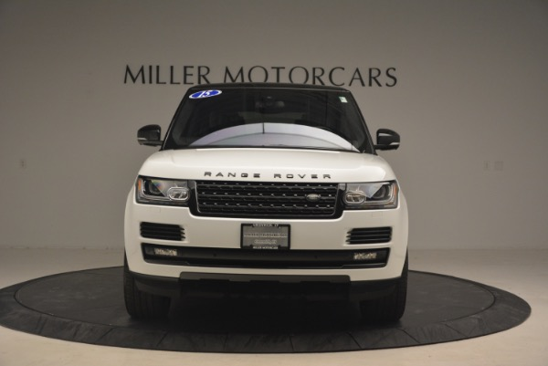 Used 2015 Land Rover Range Rover Supercharged for sale Sold at Bentley Greenwich in Greenwich CT 06830 12