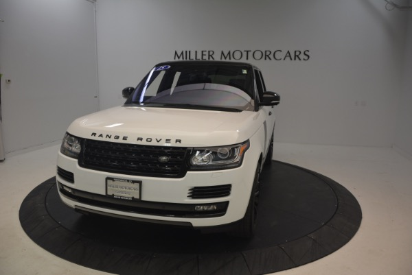Used 2015 Land Rover Range Rover Supercharged for sale Sold at Bentley Greenwich in Greenwich CT 06830 13