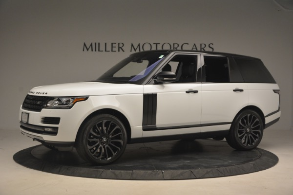 Used 2015 Land Rover Range Rover Supercharged for sale Sold at Bentley Greenwich in Greenwich CT 06830 2