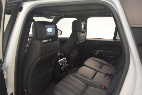 Used 2015 Land Rover Range Rover Supercharged for sale Sold at Bentley Greenwich in Greenwich CT 06830 22
