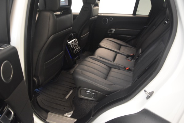 Used 2015 Land Rover Range Rover Supercharged for sale Sold at Bentley Greenwich in Greenwich CT 06830 23