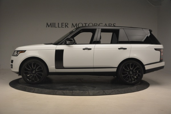 Used 2015 Land Rover Range Rover Supercharged for sale Sold at Bentley Greenwich in Greenwich CT 06830 3