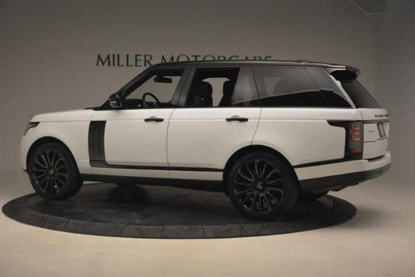 Used 2015 Land Rover Range Rover Supercharged for sale Sold at Bentley Greenwich in Greenwich CT 06830 4