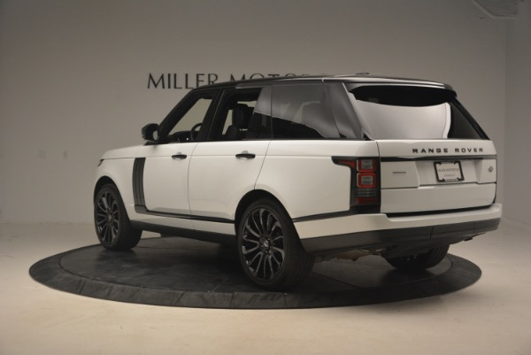 Used 2015 Land Rover Range Rover Supercharged for sale Sold at Bentley Greenwich in Greenwich CT 06830 5