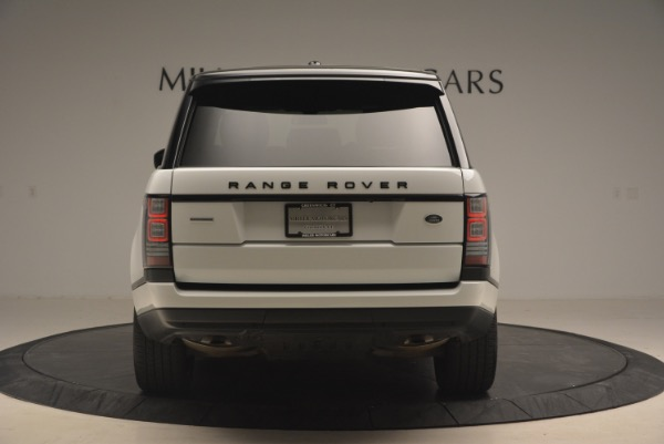 Used 2015 Land Rover Range Rover Supercharged for sale Sold at Bentley Greenwich in Greenwich CT 06830 6
