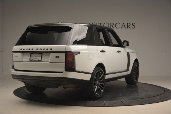 Used 2015 Land Rover Range Rover Supercharged for sale Sold at Bentley Greenwich in Greenwich CT 06830 7