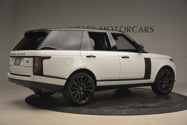 Used 2015 Land Rover Range Rover Supercharged for sale Sold at Bentley Greenwich in Greenwich CT 06830 8