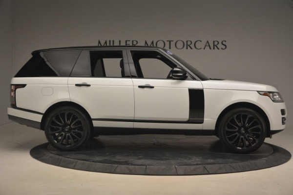 Used 2015 Land Rover Range Rover Supercharged for sale Sold at Bentley Greenwich in Greenwich CT 06830 9