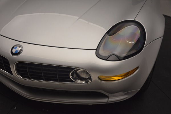 Used 2001 BMW Z8 for sale Sold at Bentley Greenwich in Greenwich CT 06830 26