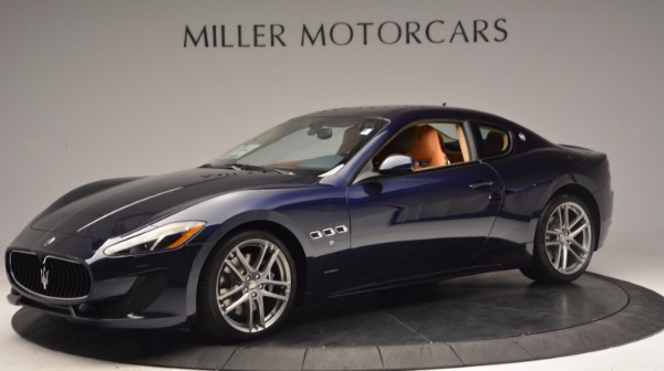 New 2017 Maserati GranTurismo Coupe Sport for sale Sold at Bentley Greenwich in Greenwich CT 06830 2