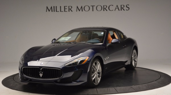New 2017 Maserati GranTurismo Coupe Sport for sale Sold at Bentley Greenwich in Greenwich CT 06830 1