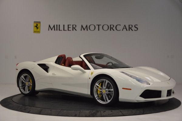 Used 2017 Ferrari 488 Spider for sale Sold at Bentley Greenwich in Greenwich CT 06830 10