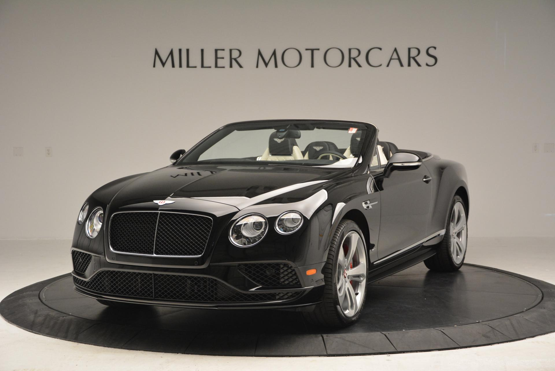New 2016 Bentley Continental GT V8 S Convertible for sale Sold at Bentley Greenwich in Greenwich CT 06830 1