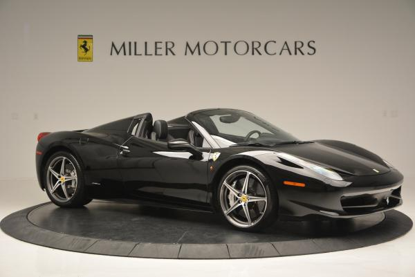 Used 2012 Ferrari 458 Spider for sale Sold at Bentley Greenwich in Greenwich CT 06830 10