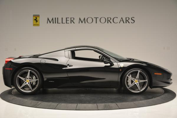 Used 2012 Ferrari 458 Spider for sale Sold at Bentley Greenwich in Greenwich CT 06830 21
