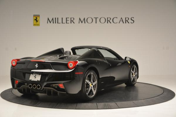Used 2012 Ferrari 458 Spider for sale Sold at Bentley Greenwich in Greenwich CT 06830 7