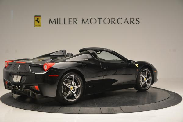 Used 2012 Ferrari 458 Spider for sale Sold at Bentley Greenwich in Greenwich CT 06830 8