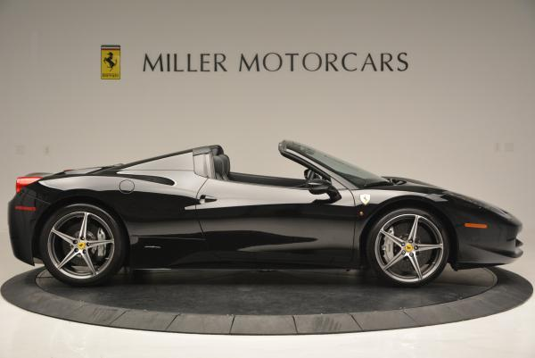 Used 2012 Ferrari 458 Spider for sale Sold at Bentley Greenwich in Greenwich CT 06830 9