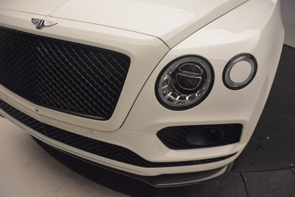 Used 2018 Bentley Bentayga Black Edition for sale Sold at Bentley Greenwich in Greenwich CT 06830 14