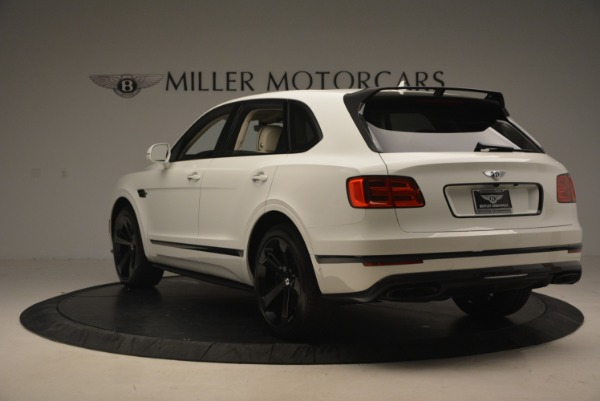 Used 2018 Bentley Bentayga Black Edition for sale Sold at Bentley Greenwich in Greenwich CT 06830 5