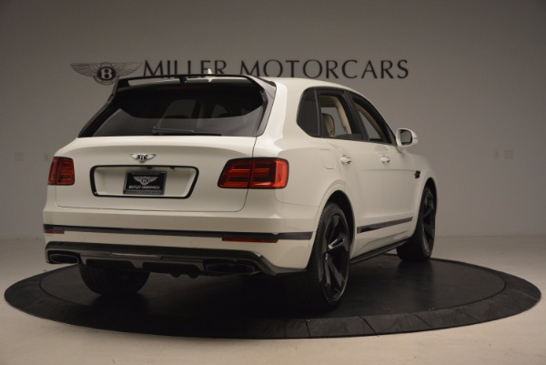 Used 2018 Bentley Bentayga Black Edition for sale Sold at Bentley Greenwich in Greenwich CT 06830 7