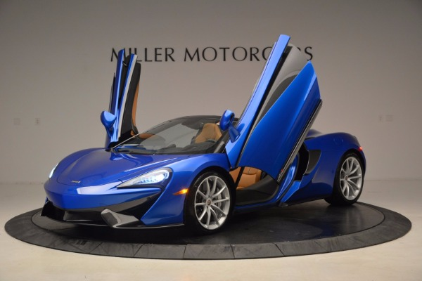 Used 2018 McLaren 570S Spider for sale Sold at Bentley Greenwich in Greenwich CT 06830 14
