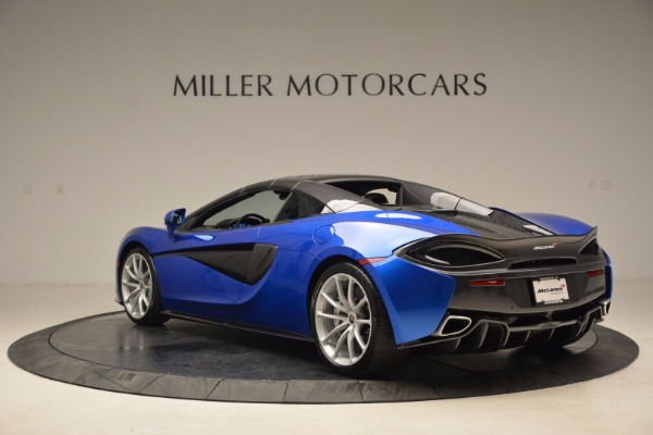 Used 2018 McLaren 570S Spider for sale Sold at Bentley Greenwich in Greenwich CT 06830 17