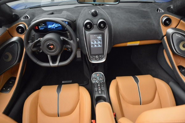 Used 2018 McLaren 570S Spider for sale Sold at Bentley Greenwich in Greenwich CT 06830 28