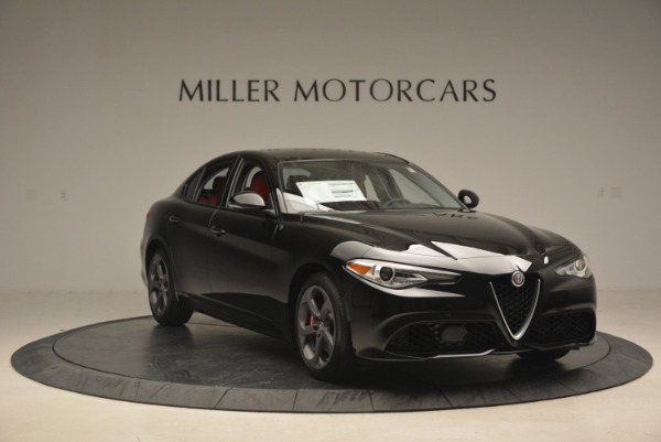 New 2017 Alfa Romeo Giulia Q4 for sale Sold at Bentley Greenwich in Greenwich CT 06830 11