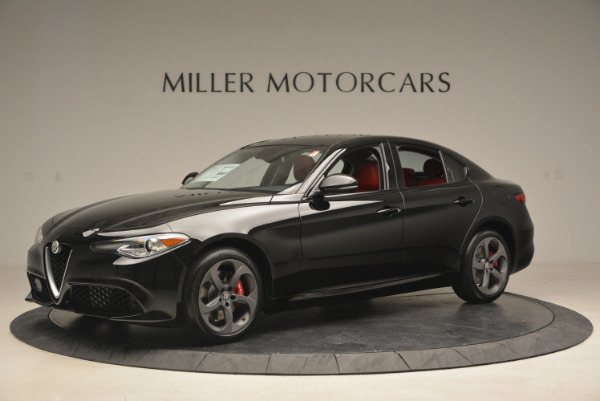 New 2017 Alfa Romeo Giulia Q4 for sale Sold at Bentley Greenwich in Greenwich CT 06830 2