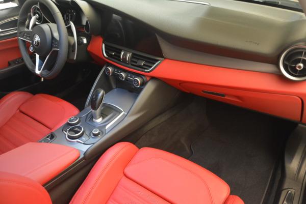 New 2017 Alfa Romeo Giulia Ti Q4 for sale Sold at Bentley Greenwich in Greenwich CT 06830 19